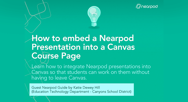 Guest Post: Katie Dewey Hill - Nearpod Blog
