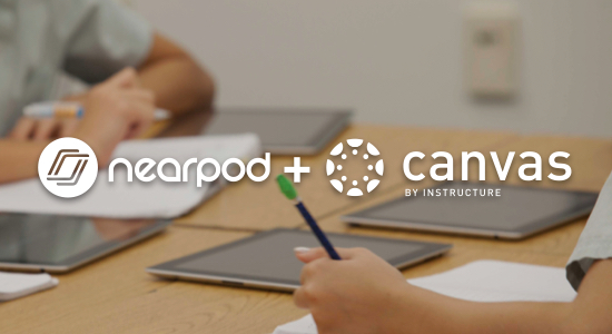 Nearpod now integrates with Canvas