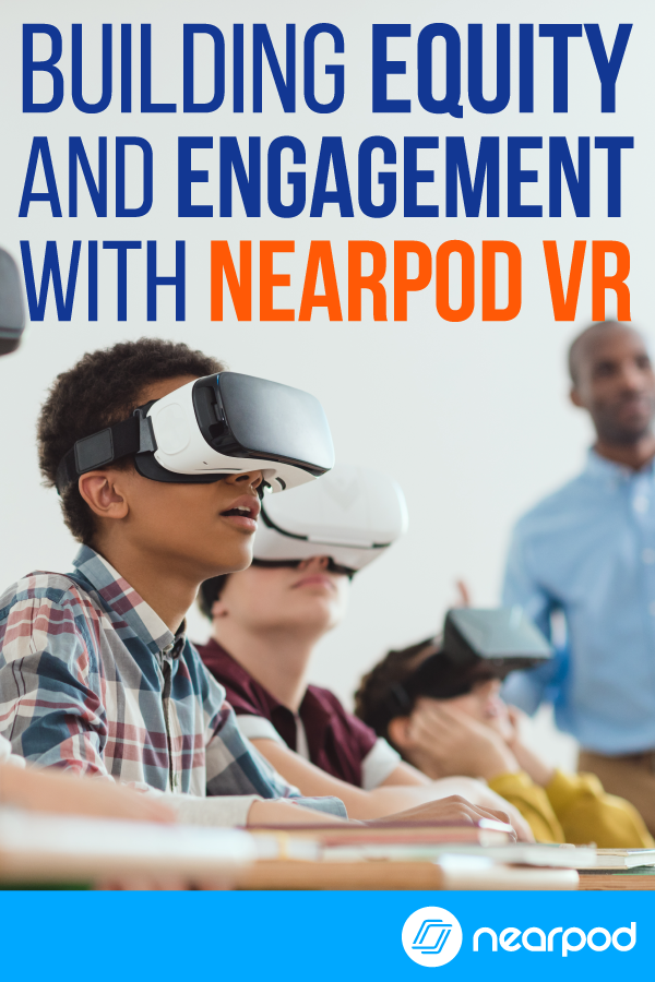 Students all come from different backgrounds and enter school with different life experiences, but virtual reality in the classroom lessons can fill in those gaps and provide students with meaningful experiences. | virtual reality technology |
