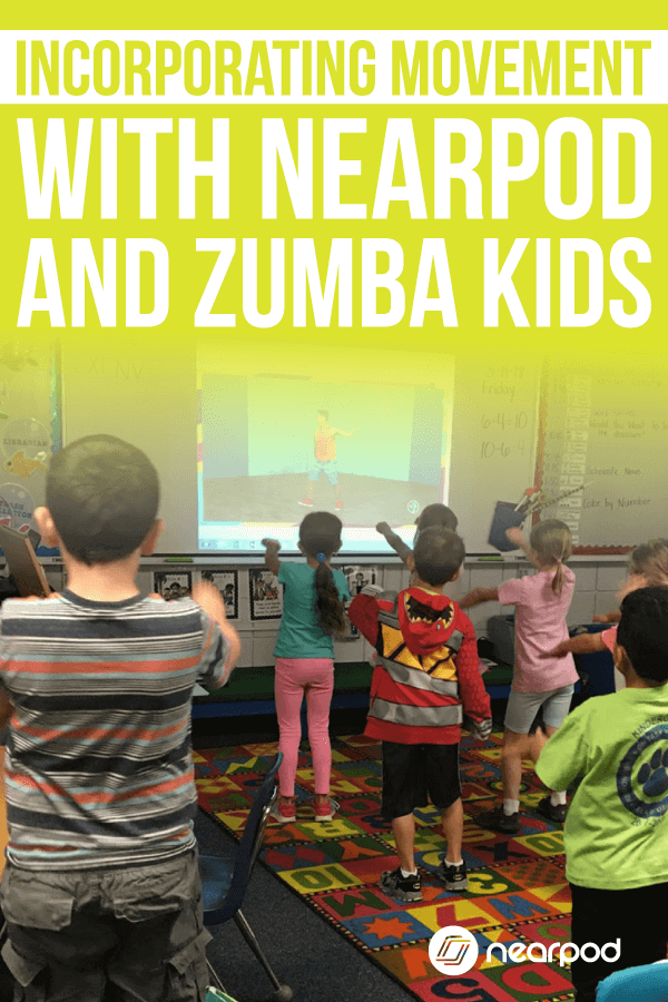 What are your favorite brain breaks in the classroom? Nearpod has partnered with Zumba to provide brain breaks and leveraging technology in the classroom!