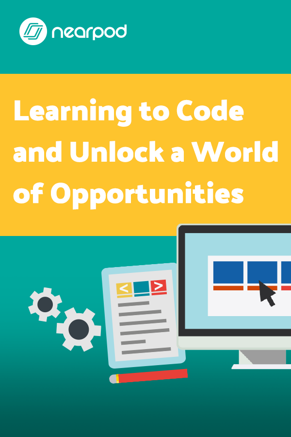 Coding activities for kids using Nearpod! Ideas to begin coding in the classroom with easy lesson plans for teachers!
