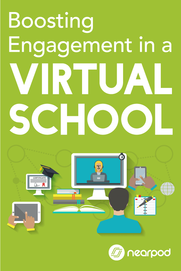 Virtual schools are quickly increasing with the advancement of technology. Learn out how to utilize Nearpod in these settings to enhance technology in the classroom. #edtech