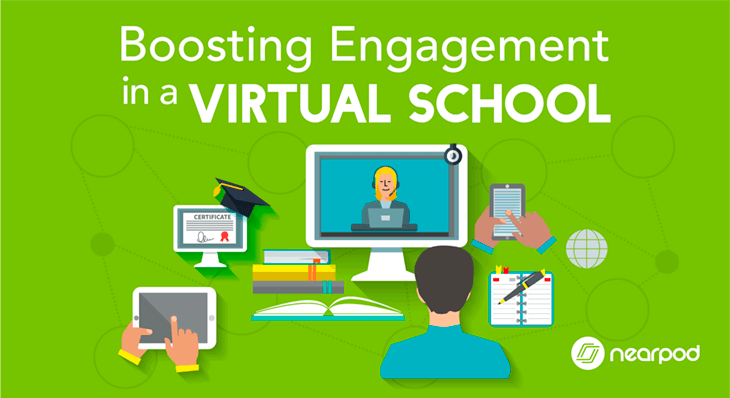 Boosting Engagement in a Virtual School