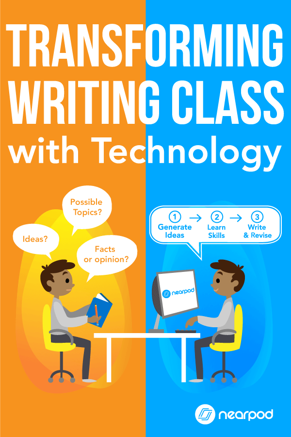 Writing tips and writing lessons plans to revamp your next writing class using Nearpod! Leverage technology in the classroom with these ideas and activities!
