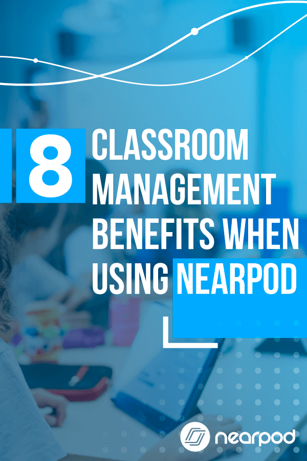Classroom management strategies by using technology in the classroom and Nearpod! Discover how in this post!