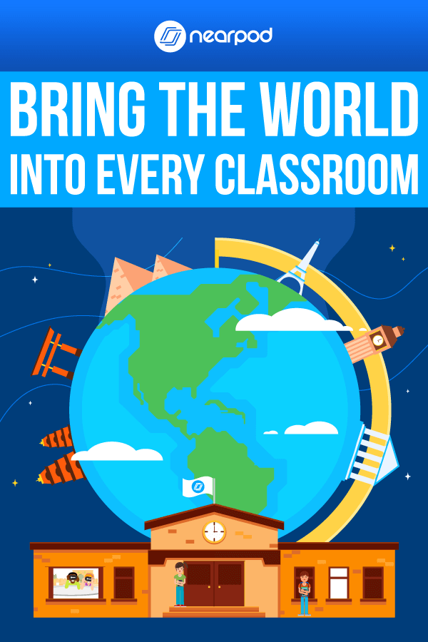 #NearpodUpdate! Bring the world into the classroom with new supplemental curricula, product and feature updates!