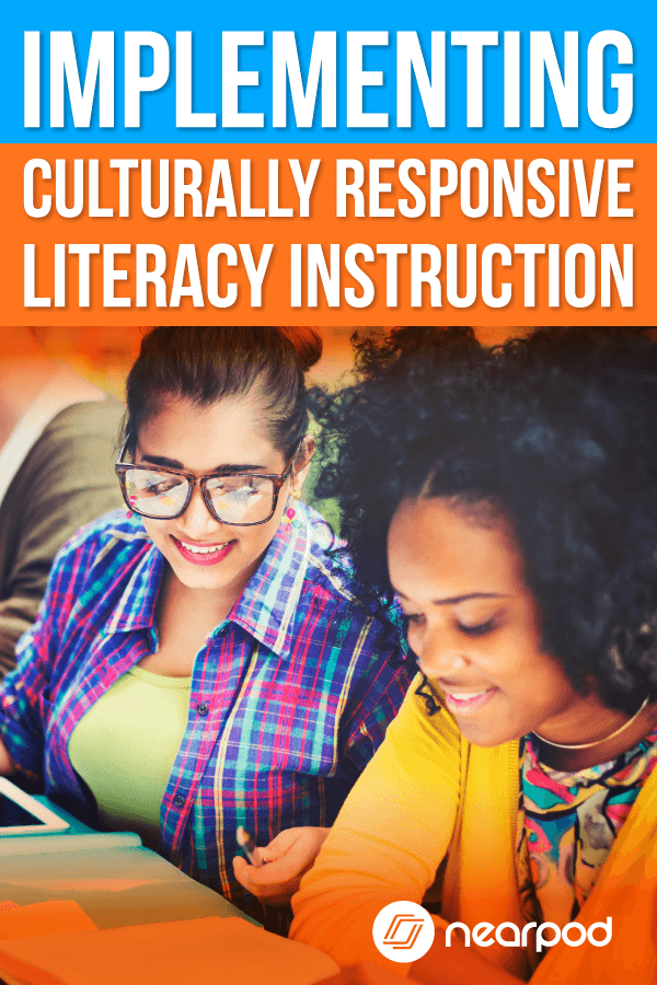 Culturally responsive teaching ideas for literacy instruction. This is important for your esl | english language learners. Learn how Nearpod and integrating technology in the classroom can support you, your students and the ease of lesson plans!