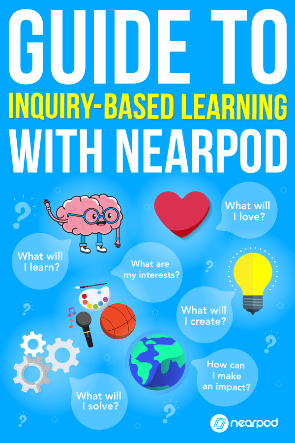 Get this guide to inquiry-based learning. These technology in the classroom activities and Nearpod are perfect for any subject!