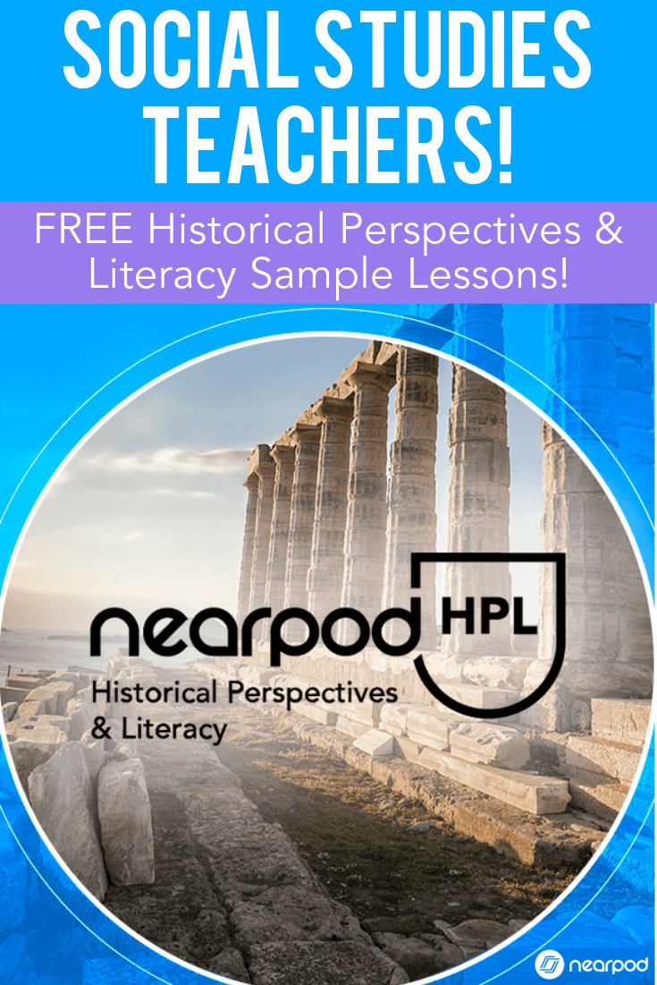 Nearpod historical perspectives literacy