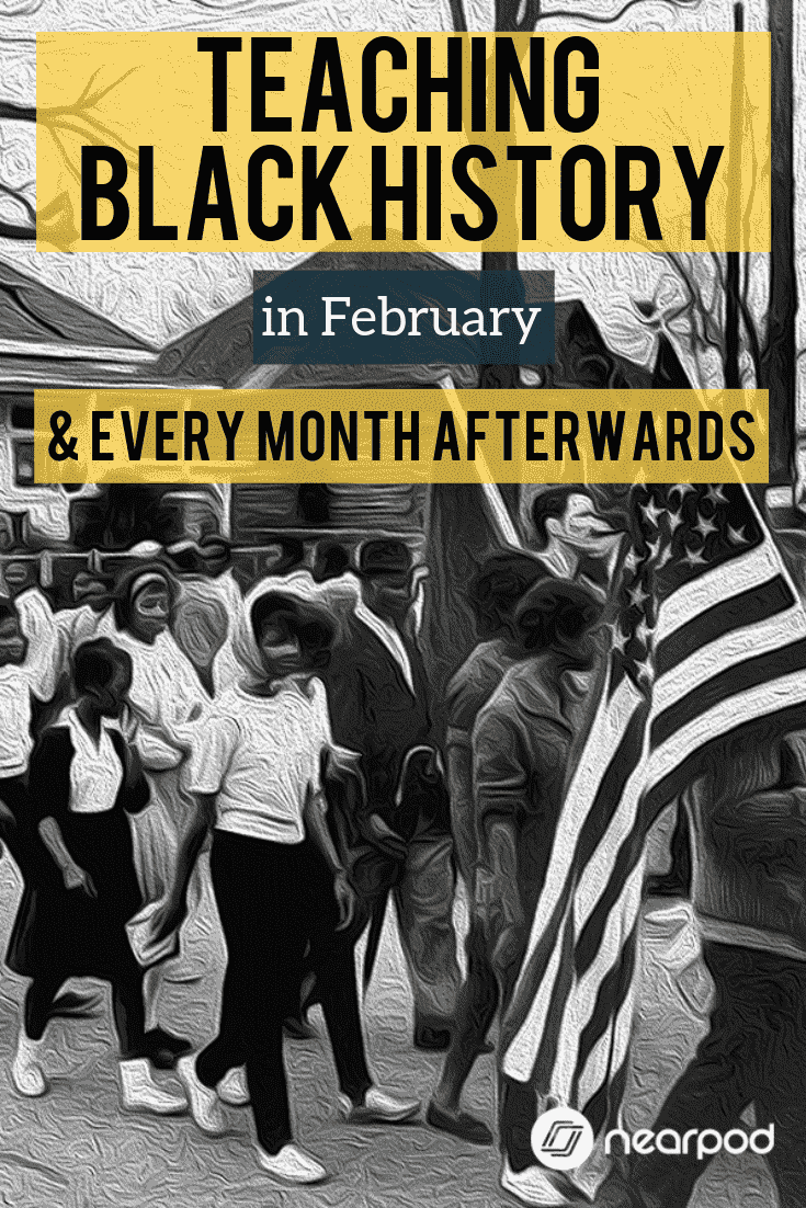 As we enter February, highlight Black History Month and have those conversations. But my challenge for you is; as February blows by, like any other month, continue the discussions, topics, and lessons - don't just stop because it's March 1st.