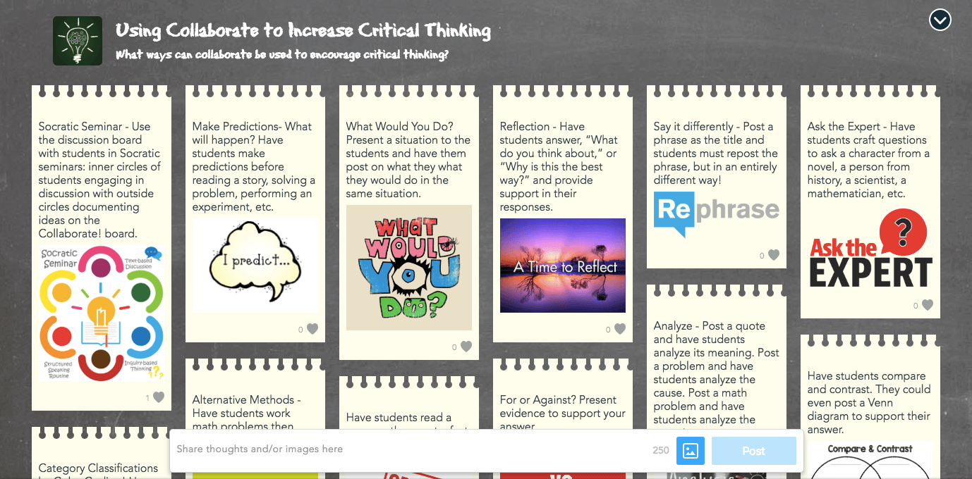 Nearpod Collaborate Ideas