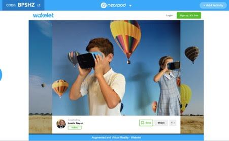 App-smashing Nearpod Wakelet Immersive reader integration