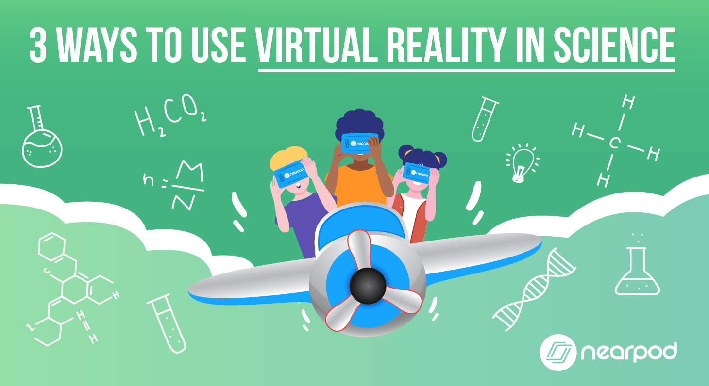 edtech VR in Science lessons in library classroom activities