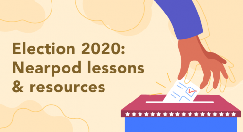 Teach students about the presidential election