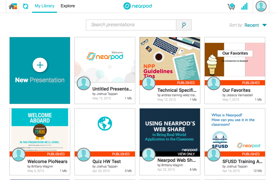 Nearpod has a new look!