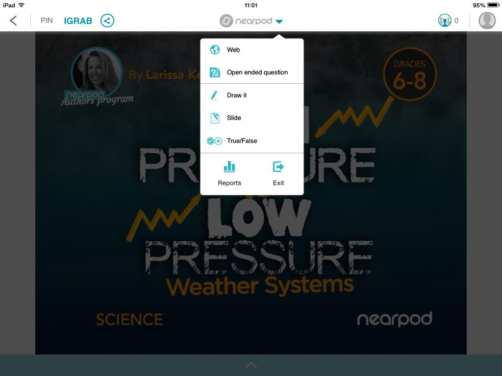 Adapt instruction as you teach with the latest Nearpod iOS app update!