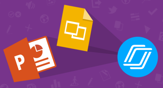PPT, GSlides and Nearpod icons connected